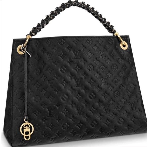 b2f5bf6889b52 New Louis Vuitton Monogram Artsy Braided Handle